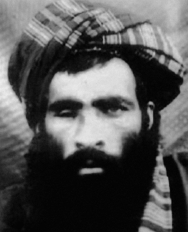 Taliban lideri Molla Ömer'in en ünlü fotoğrafı.
