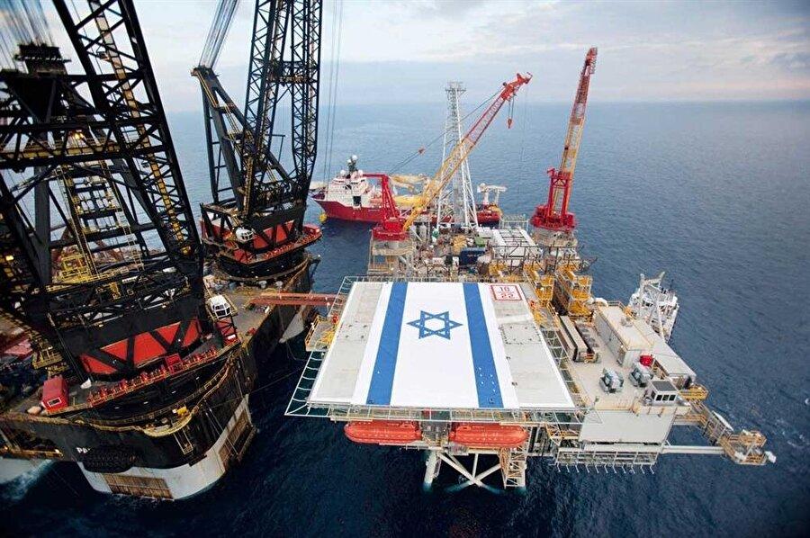 İsrail'in doğalgaz yataklarından biri, Gazze açıklarında bulunuyor. Gazze'ye ablukayı sürdüren İsrail yönetimi, normalde Gazze'ye ait olan karasularında doğalgaz çıkarıyor.