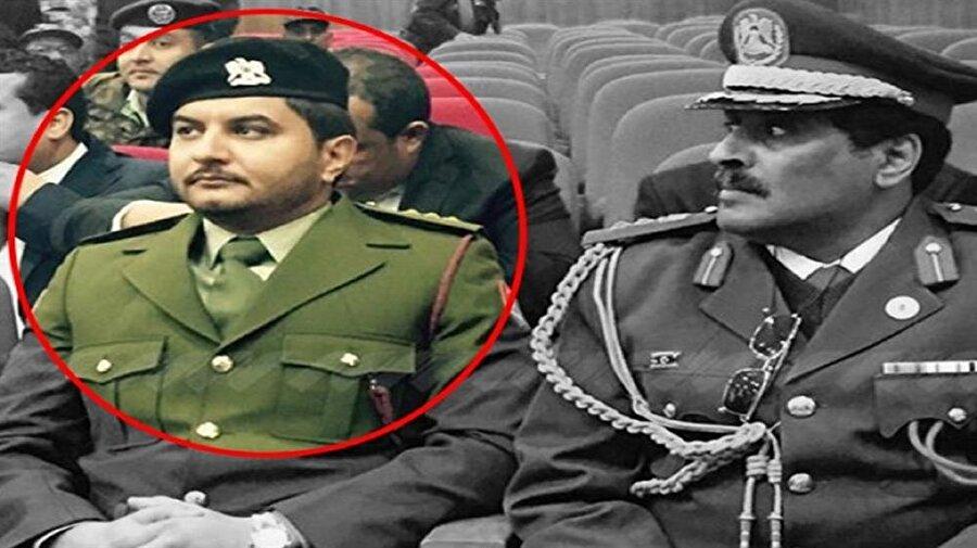 Saddam Hafter, babasının izinden giden bir asker.