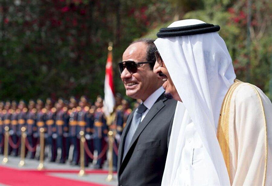 2013'teki askeri darbeyi, Suudi Arabistan desteklemişti.