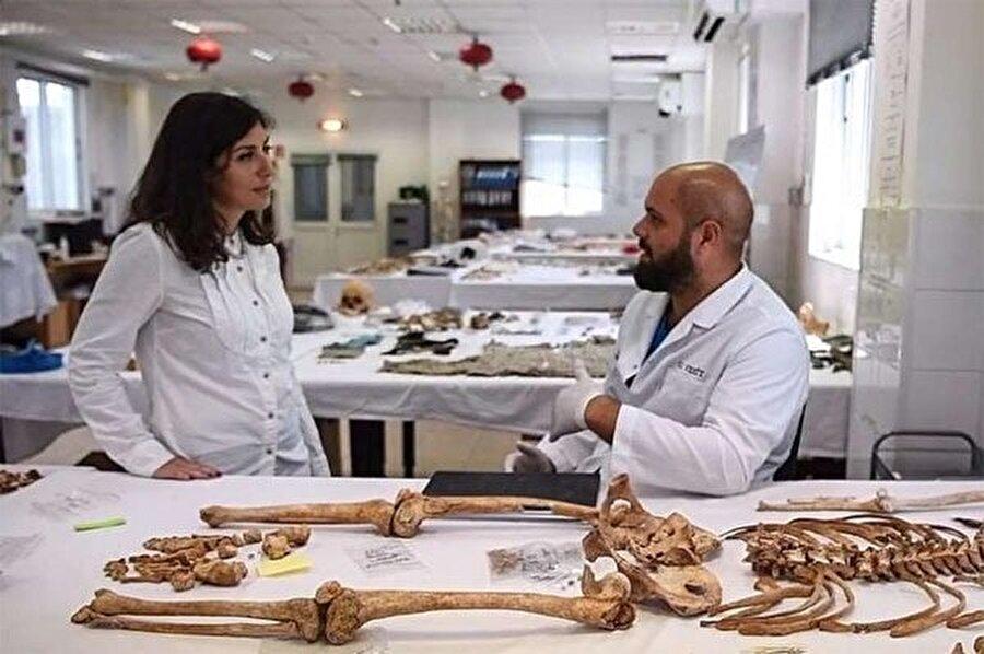 Kemikler üzerinde DNA testi yapan araştırmacılar cesedin Ahmet Hergüne ait olduğunu tespit etti