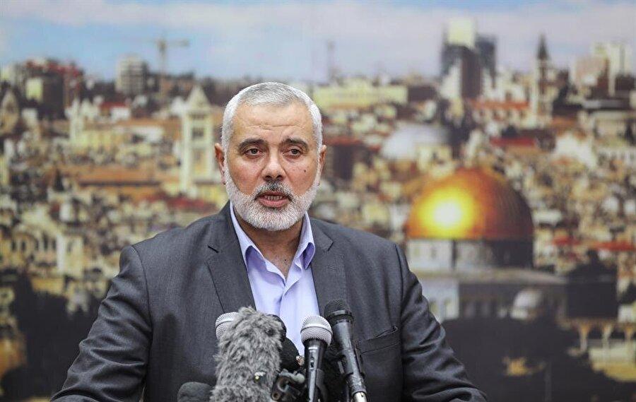 Hamas lideri İsmail Heniye. (Mustafa Hassona / AA)