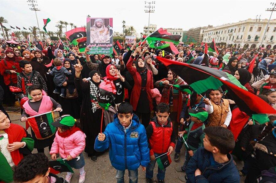 Libya'da 2011'den bu yana devam eden iç sava, ülkede yaşayan çocukların hayatını da olumsuz etkiliyor. (Hazem Turkia / AA)