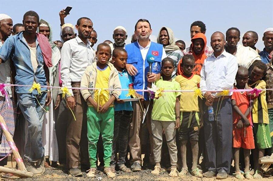 TİKA, Afrika'da ihtiyaç sahiplerine yardım eli uzatmaya devam ediyor.