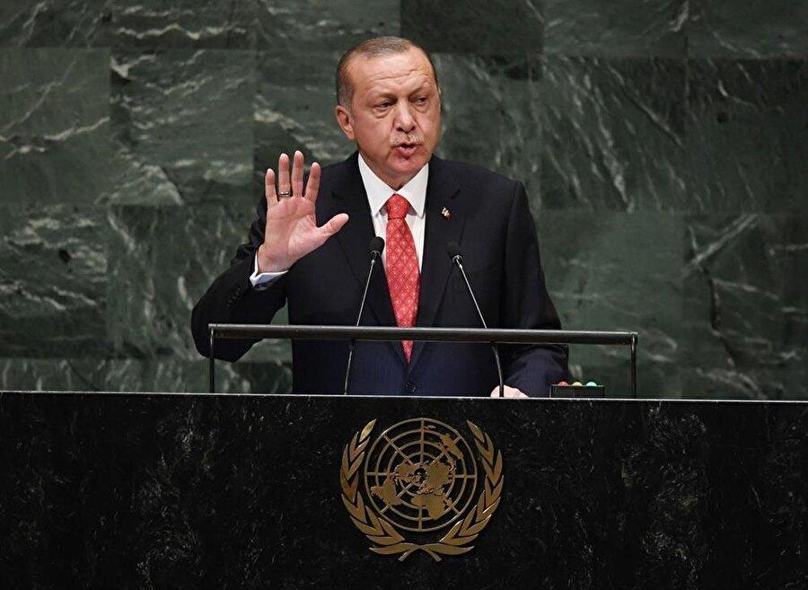 Cumhurbaşkanı Erdoğan'ın 'Dünya beşten büyüktür.' ifadesini kullandığı konuşma, Birleşmiş Milletler toplantısının en özel anlarından biri oldu.