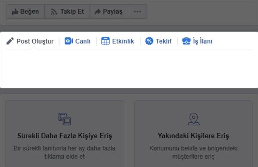 Facebook'taki bu hata, sayfalarda paylaşım yapılmasını engelliyor.