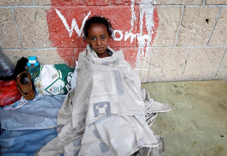 Savaş en çok çocuklar etkileniyor.