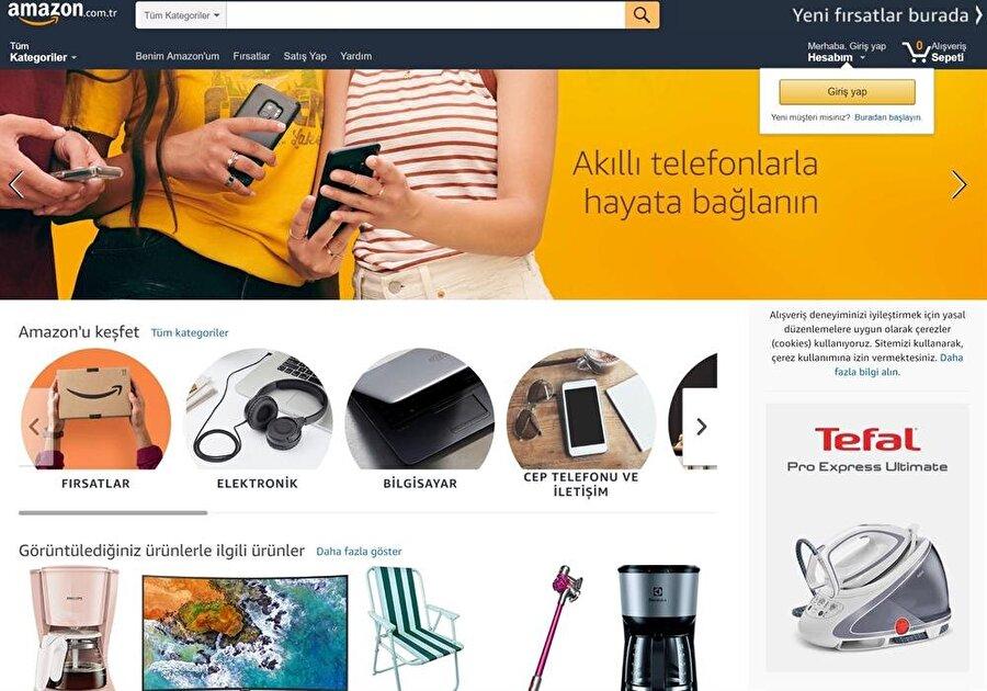 Amazon Türkiye'de fırsatlar, elektronik, bilgisayar, cep telefonu ve iletişim başta olmak üzere birçok farklı kategori bulunuyor.