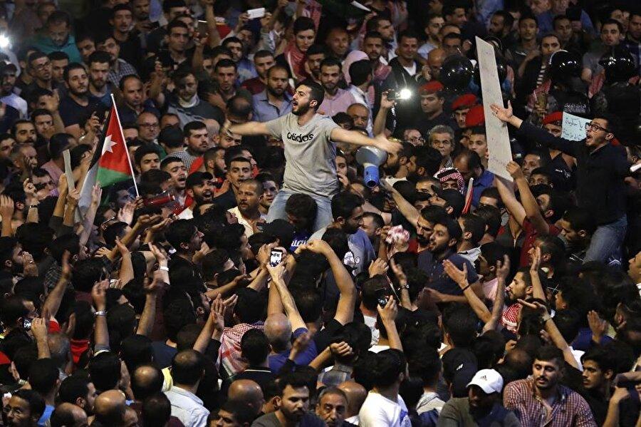 Ürdünlüler, haziran ayında günlerce süren protestolar düzenlemişti.