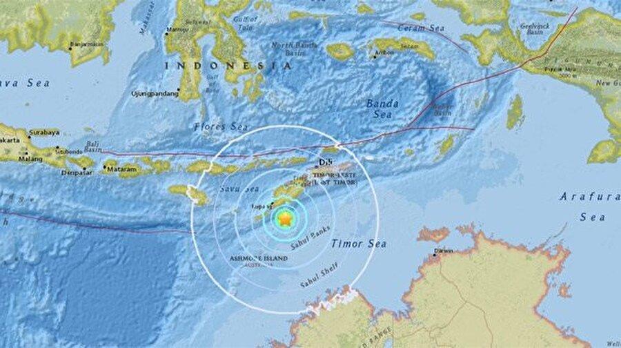 Şiddetli sarsıntı sonrası yapılan tsunami uyarısı birkaç saat sonra kaldırılmıştı.