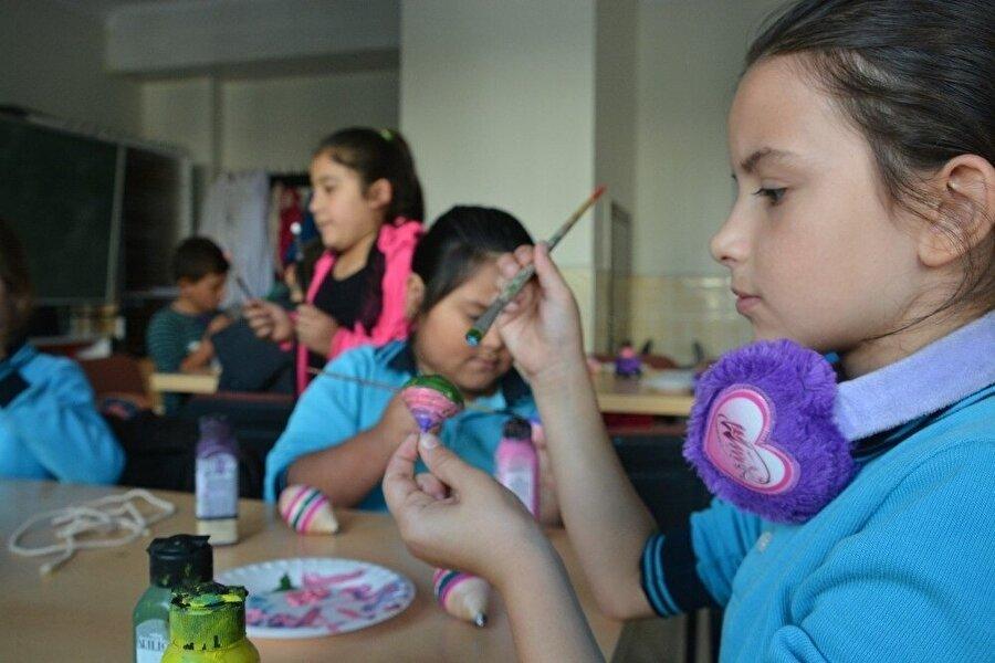 Öğrencilerin etkinlikleri hem eğlenceli hem de öğretici bir çalışmaya dönüştü.