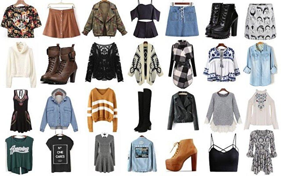SHEIN, moda konusunda onlarca farklı ürünü haznesinde barındırıyor.