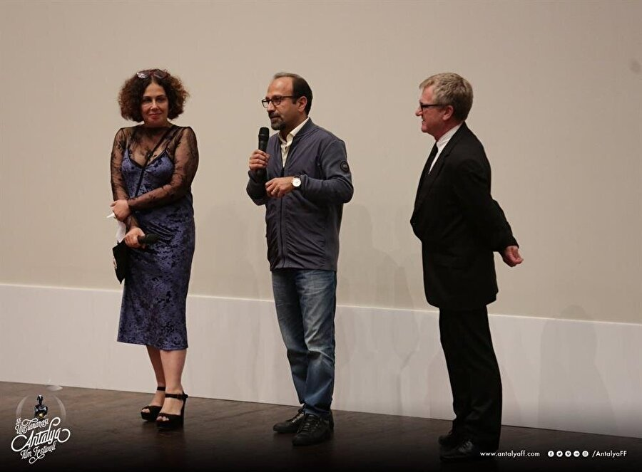 Asghar Farhadi Antalya Film Festivali vesilesiyle Türk izleyicilerle buluştu.