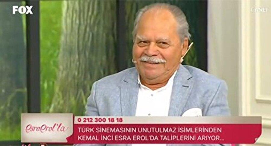 Kemal İnci'nin katıldığı evlilik programından görüntüler.