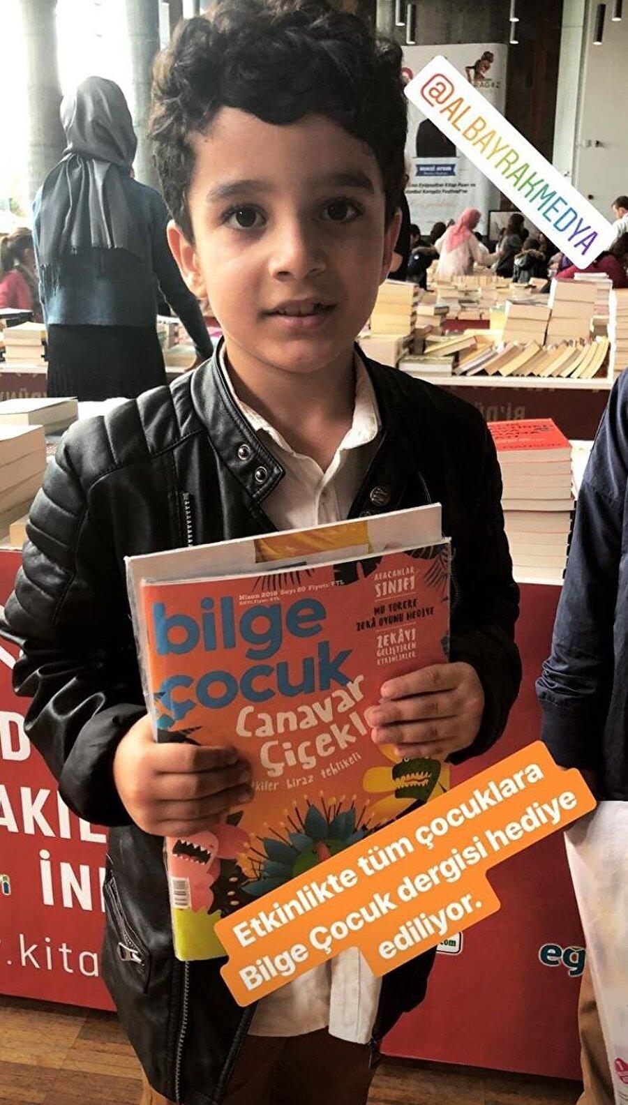 Bilge Çocuk dergisi, ücretsiz olarak çocuklara dağıtıldı