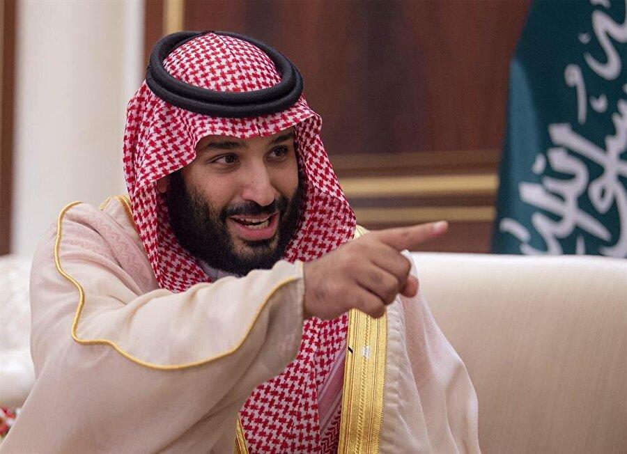 Suudi Arabistan Veliaht Prensi Muhammed Bin Selman, Katar'a yönelik ablukanın kilit isimlerinden. (Fotoğraf: Bandar Algaloud / AA)