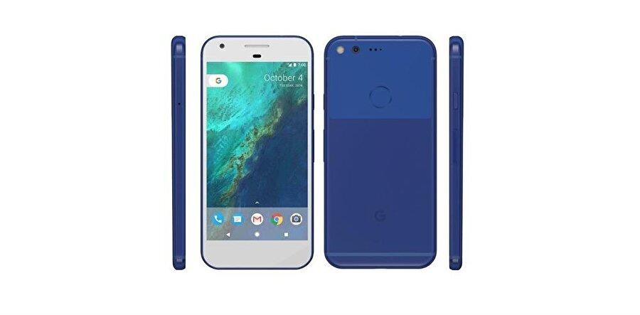 HTC tarafından üretilen Google Pixel.