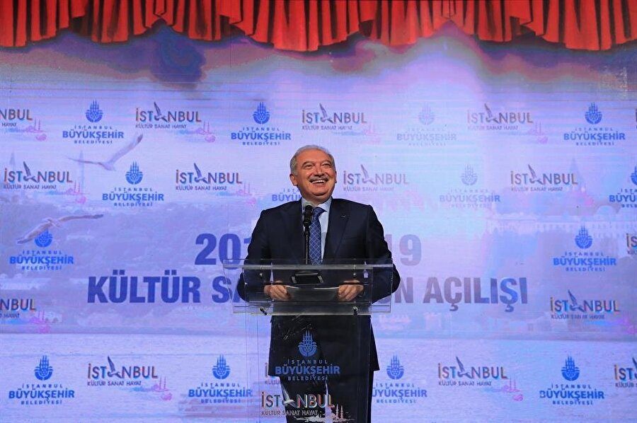 Açılış Konuşmasını İstanbul Büyükşehir Belediye Başkanı Mevlüt Uysal yaptı.