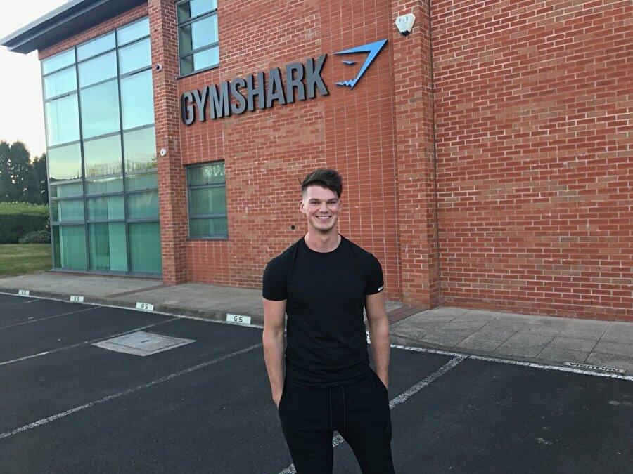 Gymshark firması tüm Avrupa ülkelerine ve ABD'ye ihracat yapar hale geldi.