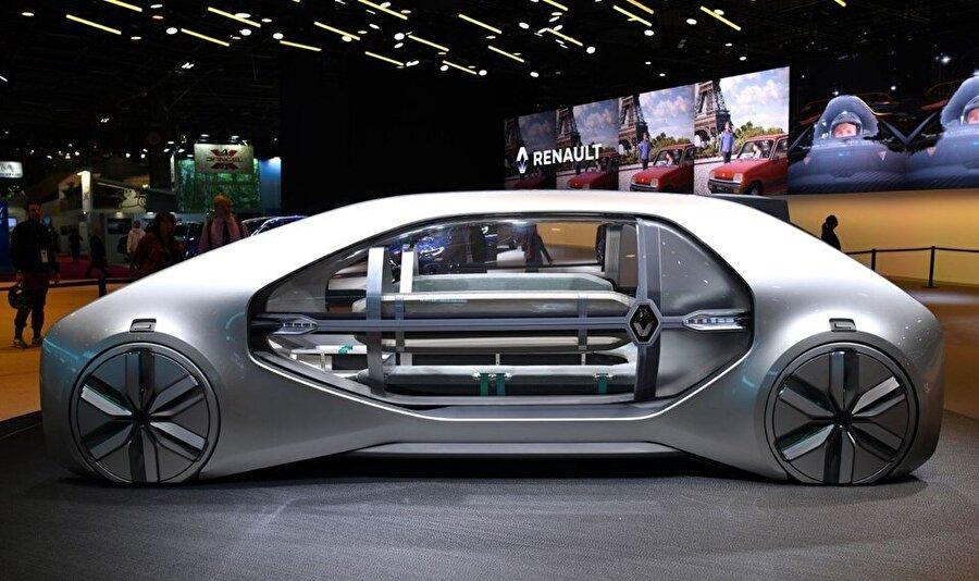 2018 Paris Otomobil Fuarı'nda otomobiller dışında otomobil konseptleri ve tasarım modelleri de yerini alıyor.