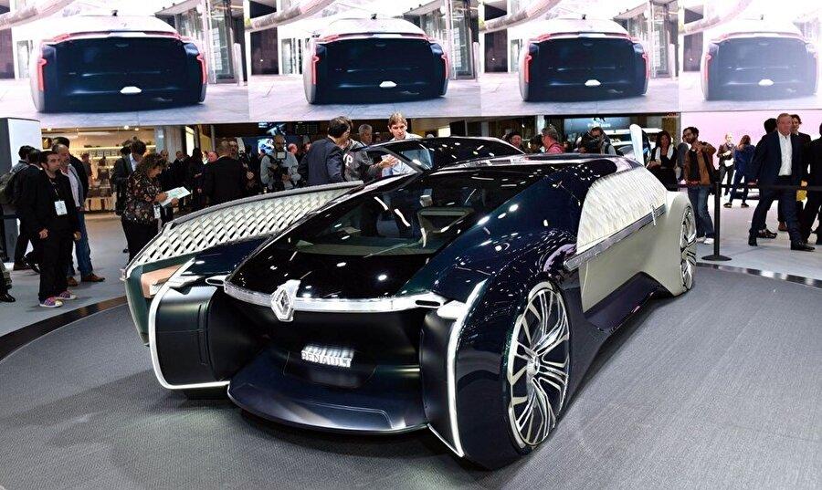 Renault'un premium ve paylaşımlı robot araç modeli EZ-ULTIMO, fuarın en dikkat çekici ürünleri arasında yer alıyor.