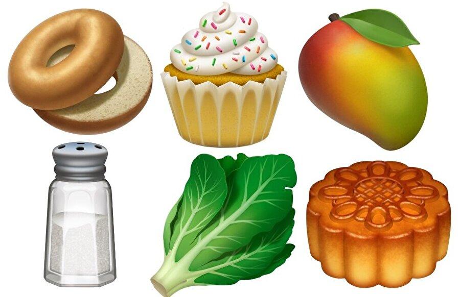 Yiyecek ve içecekler için özel emojiler uzun süredir var. Ancak tuzluk ve marul gibi ilginç emojiler iOS 12.1 ile mobil işletim sistemine ekleniyor.