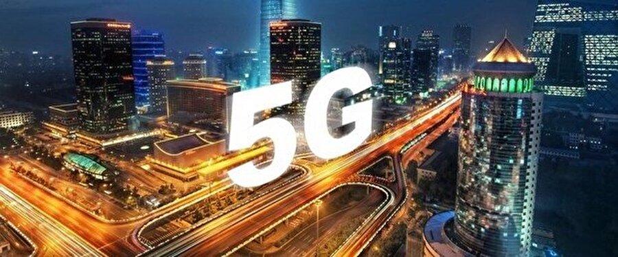 5G'yi konu alan afiş ve tasarımlar hem yazılı hem de görsel basında sıklıkla kullanılıyor.