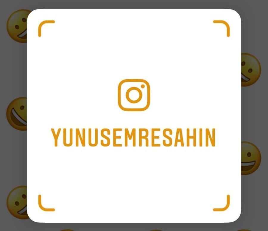 Instagram'da herhangi bir profil için Nametag oluşturulduğunda bu şekilde bir görüntü oluşturuyor.