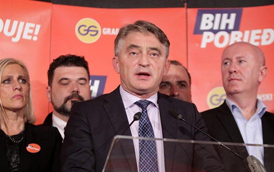 Konsey'in Hırvat üyesinin Demokrat Cephe (DF) adayı Zeljko Komsic olması bekleniyor.