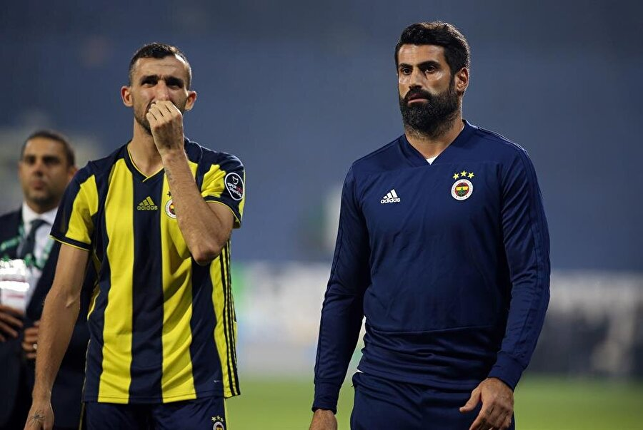 Mehmet Topal Volkan Demirel'le birlikte.