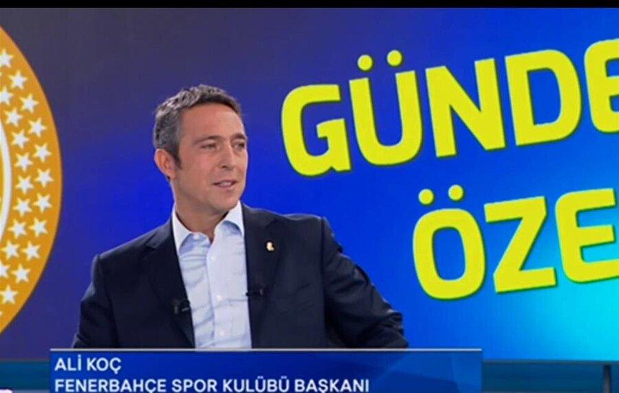 Fenerbahçe Başkanı Ali Koç, FB TV'de kulübün gündemine ilişkin çarpıcı detaylar paylaştı.