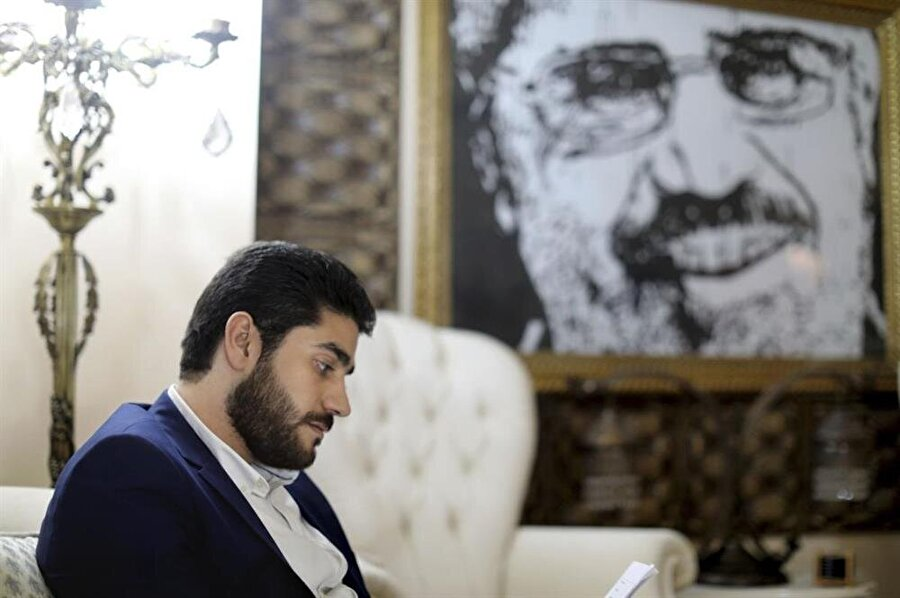 Abdullah Mursi, babasının serbest bırakılması için düzenlenen kampanyanın koordinatörlüğünü yürütüyor.