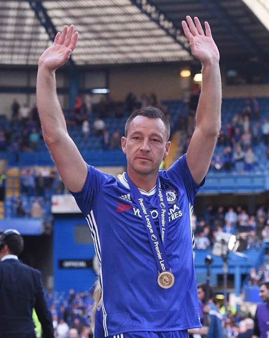 John Terry'nin Chelsea yıllarından bir kare.