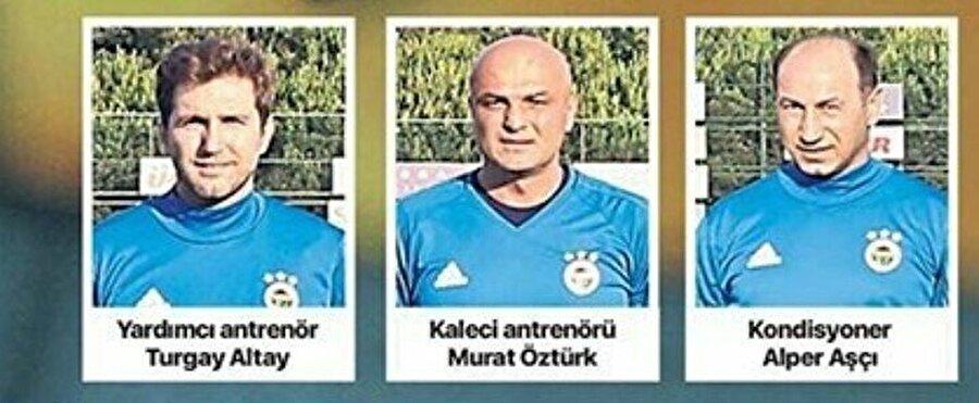 Fenerbahçe'de yolların ayrıldığı 3 yardımcı antrenör.