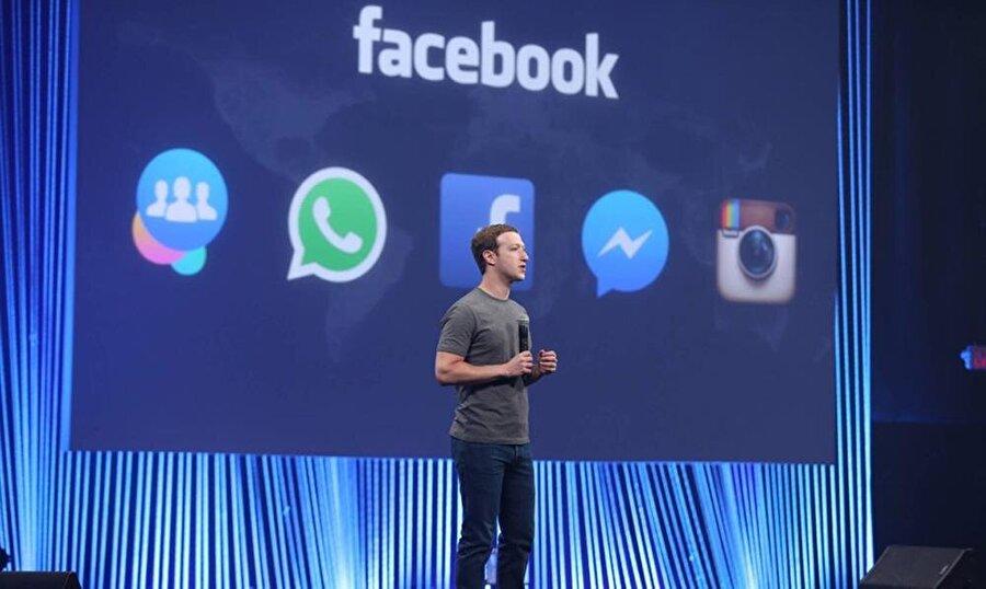 Facebook bünyesinde WhatsApp, Instagram gibi dev oluşumları da barındırıyor.