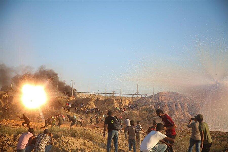 30 Mart'tan bu yana her cuma yapılan Büyük Dönüş Yürüyüşü'nde bügüne kadar 200'de fazla Filistinli hayatını kaybetti.