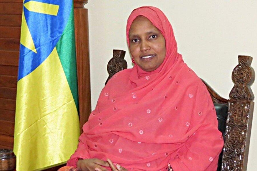 Dr. Aişe Muhammed Musa Etiyopya'nın ilk kadın savunma bakanı oldu.