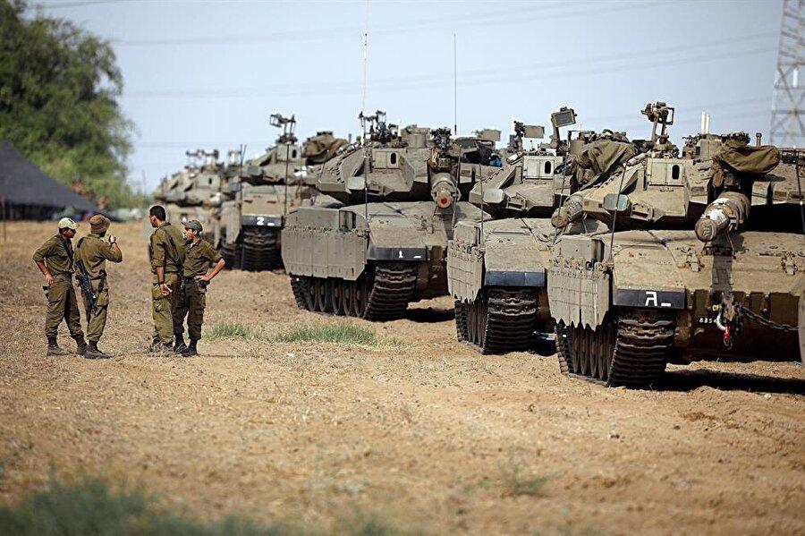 """İsrailli devlet görevlileri 30'uncu cuma gösterisinin """"Hamas için bir sınav olacağı"""" açıklamalarında bulunmuştu."""