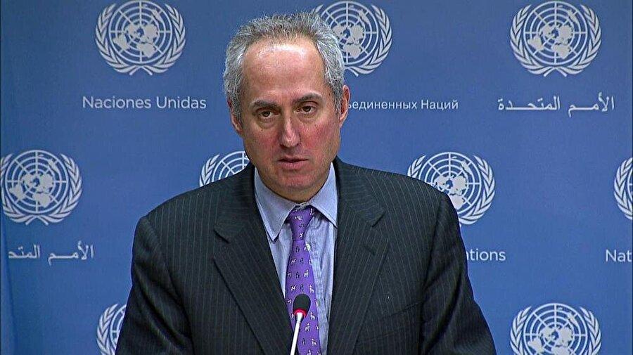 BM Genel Sekreter Sözcüsü Stephane Dujarric