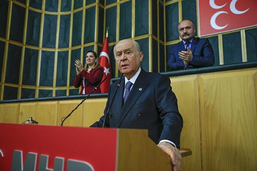 MHP lideri Devlet Bahçeli