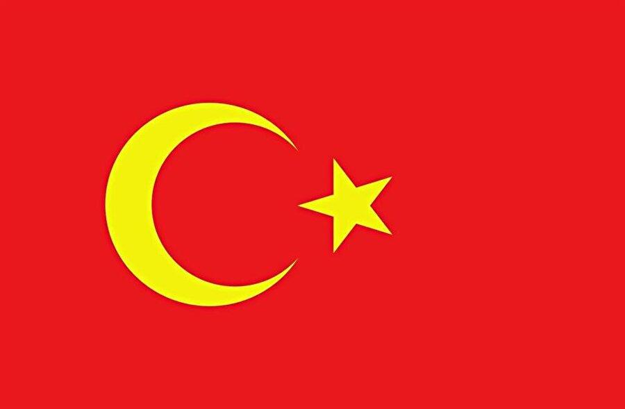 Bolşevik devrimi sonrası 1917-1920 yılları arasında Kazak ve Kırgızların kurduğu Alaş Orda Otonom Cumhuriyeti bayrağı.