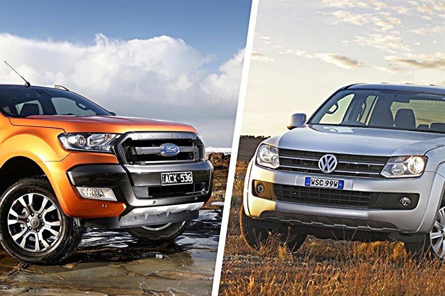 Ford ve Volkswagen'in ticari araçları iki şirket için de büyük önem arz ediyor.