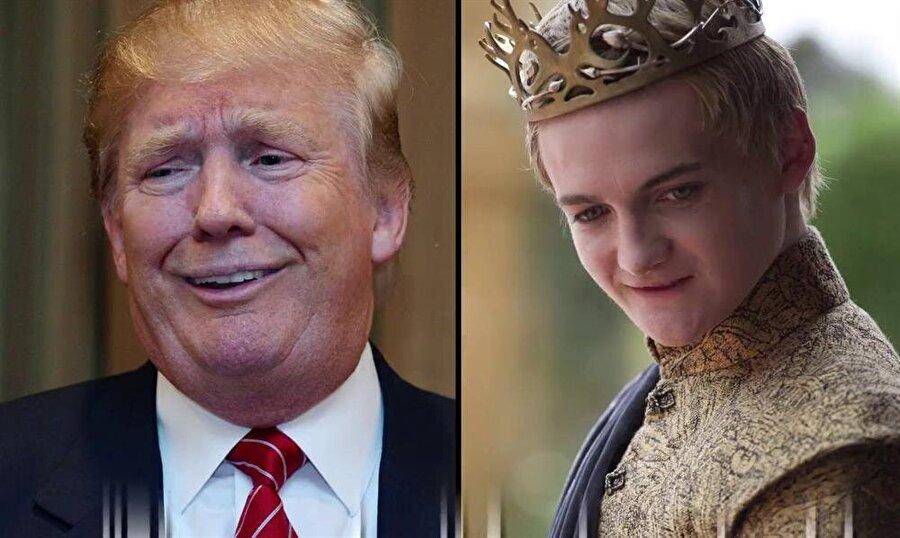 Yazar Martin, Donald Trump ve Joffrey'in aynı düzeyde duygusal olgunluğa sahip olduklarını söyledi.