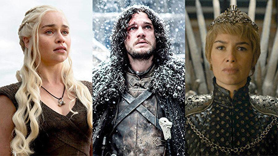 Game Of Thrones hikayesinin ana fikrinde yaşanan taht kavgası ele alınıyor. Birçok açıdan farklı görüşe sahip liderlerin fikirlerinin ve güçlerinin çarpıştığı dizide, günümüz siyasilerine de örnek teşkil edecek olaylar yaşanıyor.
