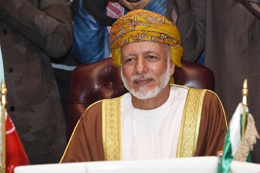 Umman Dışişleri Bakanı Yusuf bin Alevi.
