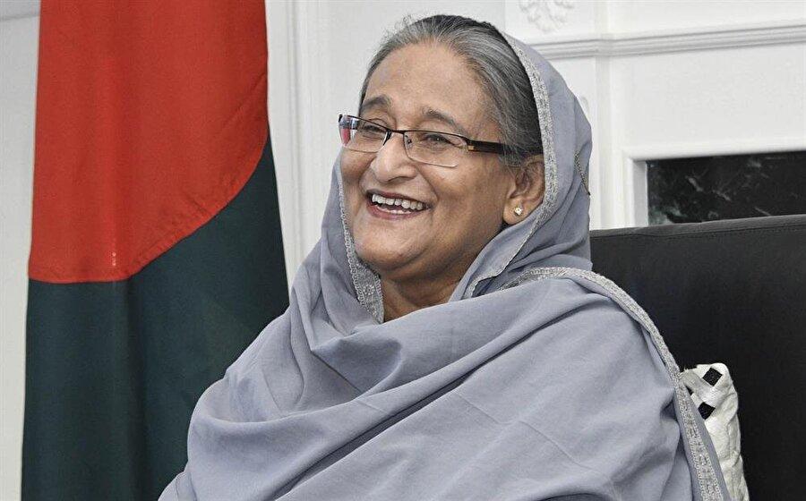 Bangladeş Başbakanı Şeyh Hasina.