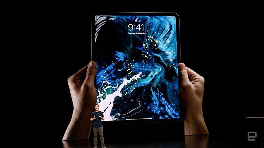 Yeni iPad'in görünümü bu şekilde. Fotoğraf: Engadget.