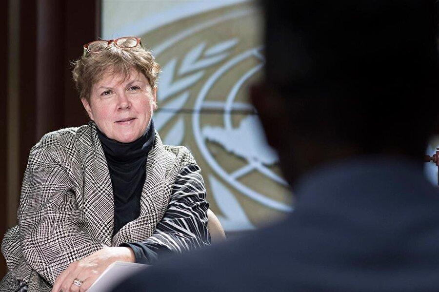 Birleşmiş Milletler Genel Sekreteri Antonio Guterres'in Kıbrıs Özel Temsilcisi Jane Holl Lute