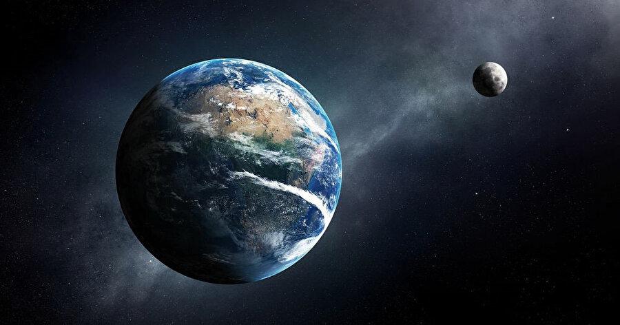 Dünya ve Ay arasındaki mesafe, ışıma hareketlerinin stabil olmasını sağlıyor.