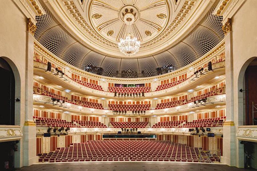 Yeni AKM'nin içerisinde bulunan Cumhurbaşkanlığı Senfoni Orkestrası (CSO).